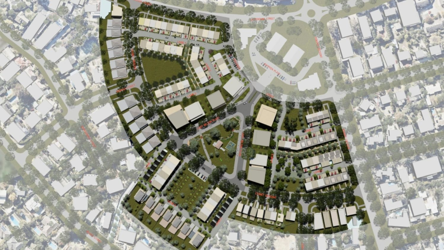 Application lodged for Red Hill public housing precinct redevelopment