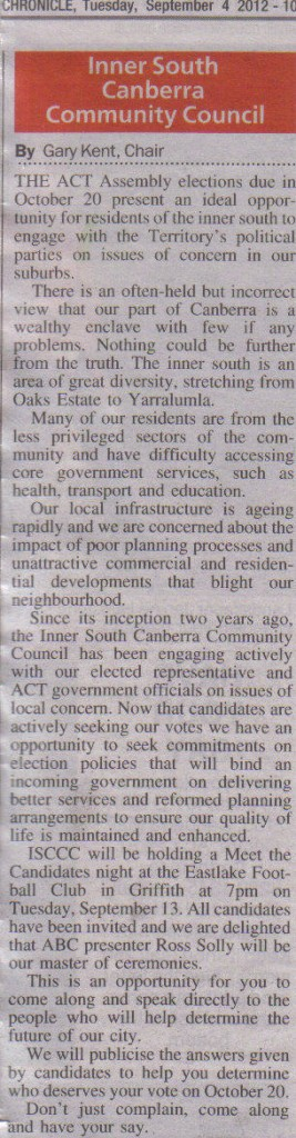 City Chronicle - 4 Sept 2012
