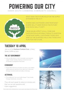 ISCCC Energy Forum - 10 Apr 18