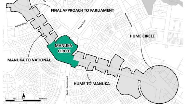 Building height limits raised around Manuka Oval under National Capital Authority's draft development control plan