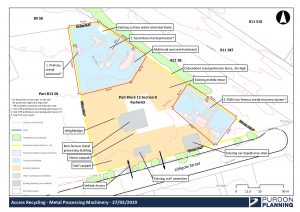 Proposed expansion of Fyshwick metal recycling facility