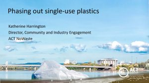 Phasing out single use plastics