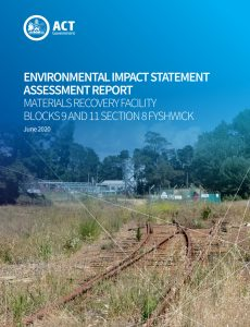 Expert and Government assessments of CRS waste facility impacts