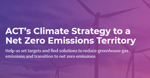 Submission on the ACT's Climate Strategy to a Net Zero Emissions Territory