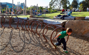 Playgrounds in Inner South Canberra